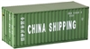Shipping Container 20 Ft. (1/24) (fs)