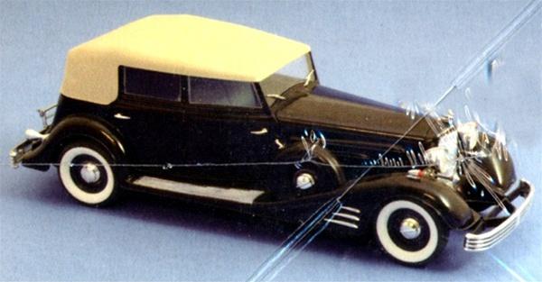 1933 Cadillac Fleetwood Phaeton (1/24) (fs)