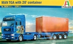 MAN TGA with 20' Container (1/24) (fs)