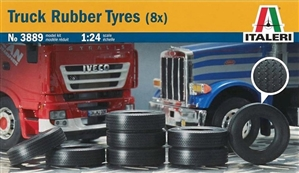 Truck Tires (Set of 8) (1/24) (fs)