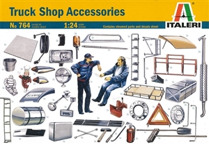 Truck Shop Accessories Set (1/24) (fs)
