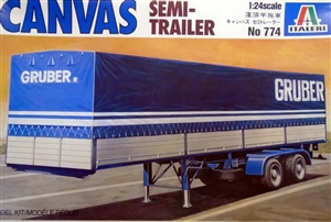 Canvas Semi Trailer (1/24) (fs)