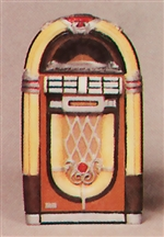 Bubble Machine 50's Classic Jukebox (1/25)