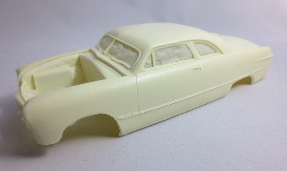 New 1//24 40 Ford Chopped Resin Cab