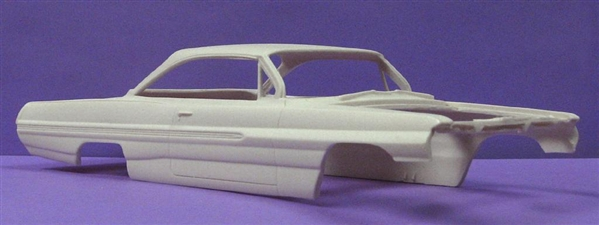 1962 Pontiac Catalina Bubbletop 1 25 Resin Body Only
