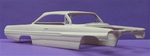 1962 Pontiac Catalina Bubbletop (1/25) (Resin Body Only)