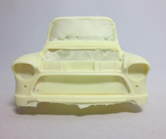 1955-57 Chevy Suburban (1/25) (Resin Body, Rear Bumper