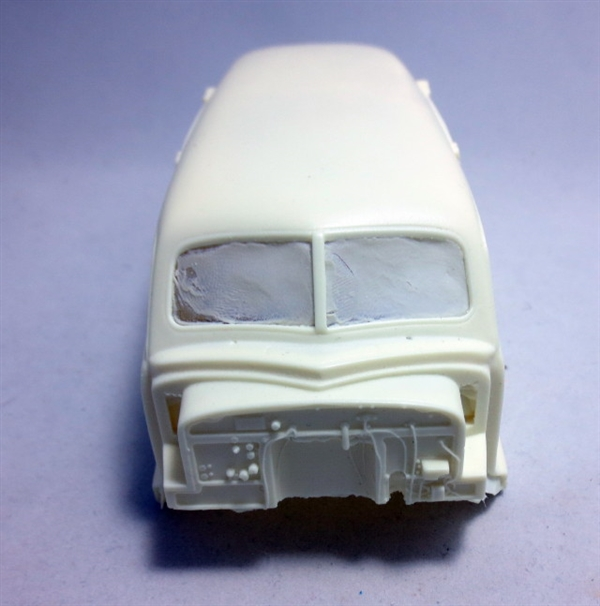 """1948 Chevy """"John Little"""" Carved Hearse (1/25) (Body Only"""