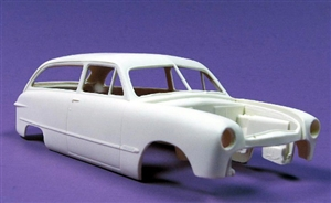 1950 Ford Custom Wagon (1/25) (Resin Body Only)