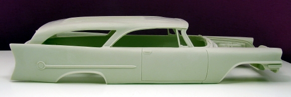 1957 Chrysler 300 Custom Wagon 1 25 Resin Body Only