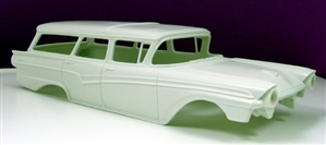 1957 Ford 4-door Country Sedan Wagon (1/25) (Resin Body Only)