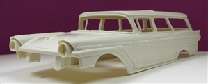 1957 Ford Country Squire Wagon (1/25) (Resin Body Only)