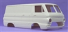 1967 Dodge A100 Panel Van (1/25) (Resin Body Only)