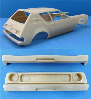 1971-72 AMC Gremlin (1/25) (Resin Body and Bumpers)