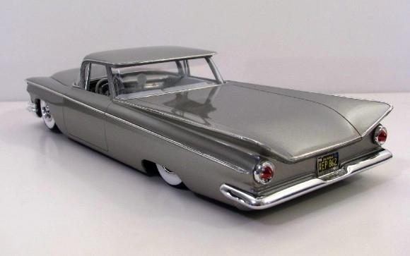 Custom Car Body Parts : Buick custom truck elvictamino body chrome