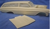 1961 Chevy Impala 2 Door Wagon (1/25) (Resin Body & Hood Only)