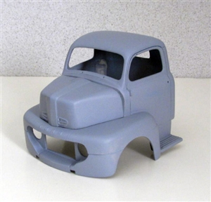1950 Ford cab over truck (1/25) (Cab and Hood only)