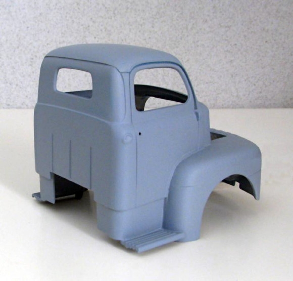 1950 Ford Cab Over Truck (1/25) (Cab And Hood Only