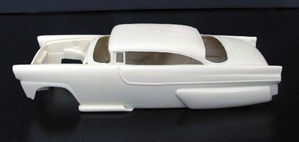 1956 Ford with a Chopped Top Body and Continental Kit (1/25)