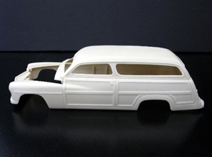 1949 Chopped Mercury Woody Wagon (1/25) (Resin Body Only)