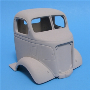 1938 GMC Truck Cab Over (1/25) (cab and grill only)