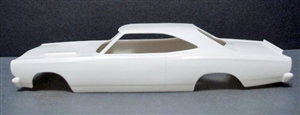 "1969 Plymouth Roadrunner Funny Car (1/25) ""Resin Body"""