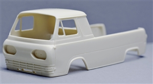 "1961 -'67 Ford Econoline 3 Window Pickup (1/25) ""Resin Body"""