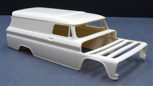 "1966 Chevy Suburban Chopped Roof Delivery Truck (1/25) ""Resin Body"""