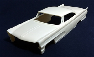 "1959 Custom Lincoln with 58 Plymouth Roof (1/25) ""Resin Body"""