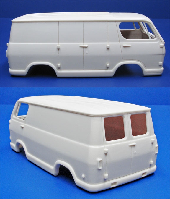 """1964-'66 Chevy Van (1/25) """"Resin Body"""" And Parts"""