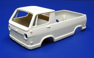 1964-66 Chevy Van Custom Pickup Truck (1/25) (Resin Body, Bumpers, and Lights Only)