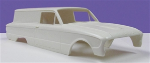 1961 Ford Courier (1/25) (Resin Body & Interior Only)