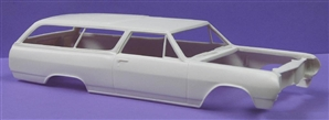 1965 Chevelle 300 2-Door Wagon (1/25) (Resin Body & Interior Only)