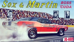 1970  Sox & Martin Plymouth Barracuda Pro Stock (1/25) (fs)