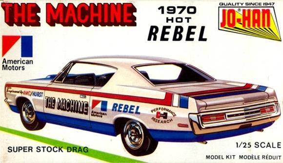 1970 Amc Rebel Quot The Machine Quot Super Stock 1 25