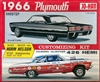 1966 Plymouth Fury III (3 'n 1) Stock, Custom or Racer (1/25) (fs)