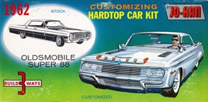 1962 Oldsmobile Super 88 (3 'n 1) Stock, Custom or Drag (1/25)