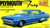 1963 Plymouth Fury Customizing Kit (2 'n 1) Stock or Custom (1/25) (fs) MINT