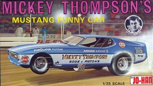 1972 Ford Mustang Mach I 'Mickey Thompson's Funny Car' (1/25) (si))