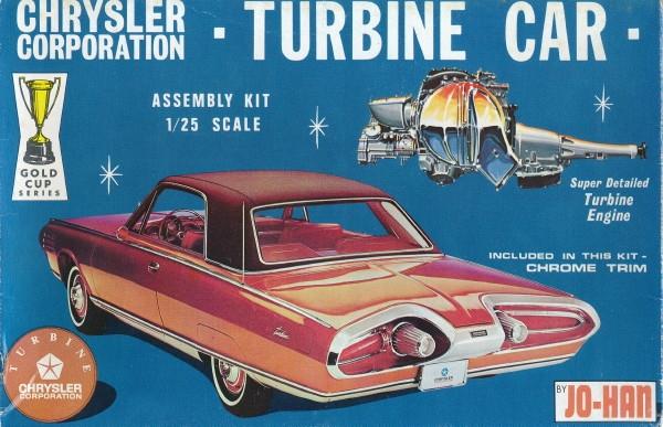 Chrysler Turbine Car Original 1 25 1964 Issue