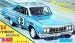 1964 Richard Petty Plymouth Belvedere (1/25) (fs)