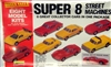 Super 8 Street Machine Set (64' Corvette, Jaguar XKE, '70 Corvette, '67 Mustang, Corvette ZR-1, Chevy Pickup, Lamborghini, and '68 Camaro) (1/64) (fs)