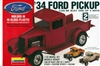 1934 Ford Custom Pickup (3 'n 1) (1/24) (fs)
