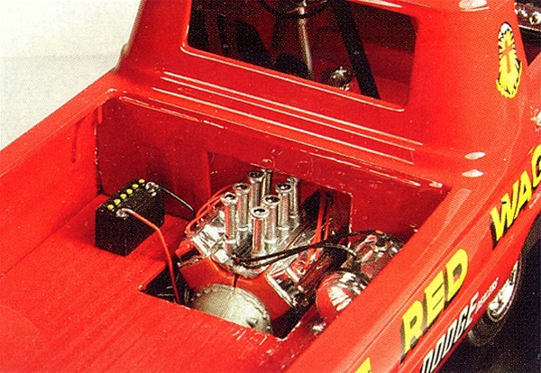 1965 Dodge A-100 Pickup Little Red Wagon (2 'n 1) (1/25) (fs)