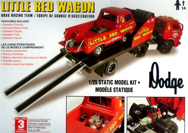 Kit Car Manufacturers >> Little Red Wagon Drag Racing Team (1/25) (fs)