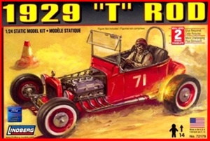 1929 Ford 'T' Rod Vintage Race Car (1/25) (fs)