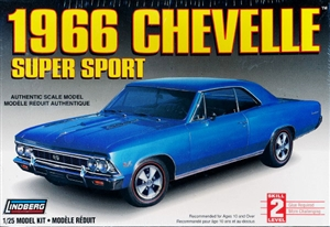 1966 Chevelle SS Hardtop  (1/25) (fs)