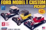 1927 Ford Model T Custom Pickup (3 'n 1) (1/24) (fs)