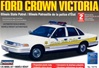 1996 Ford Crown Victoria Illinois State Police - pre-painted w/ MX-7000 light bar & authentic decals (1/25) (fs)