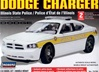 Dodge Charger Police Car - Illinois State Police - Unpainted w/8 light bars & authentic decals (1/24) (fs)